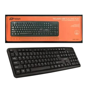 Teclado Con Cable Pc Usb Noga Net Nkb-78011 Notebook