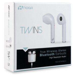 Auriculares In Ear Bluetooth Noga Twins 2 Manos Libres