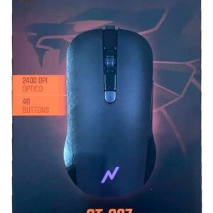 Mouse Noga Gamer Stormer Luz Led Usb 2400dpi St-627